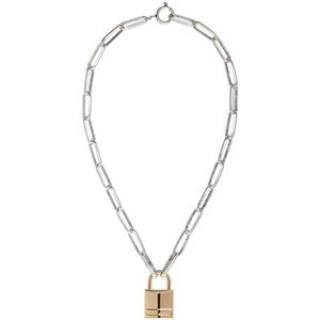 Isabel Marant Short Padlock Necklace