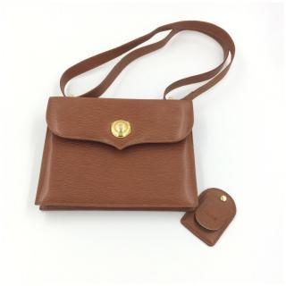 Chloe Vintage Tan Epi Leather Handbag / Shoulder / Across Body Bag