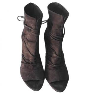 Vince Open Toe Bootee