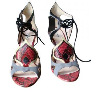 Miu Miu Python heels