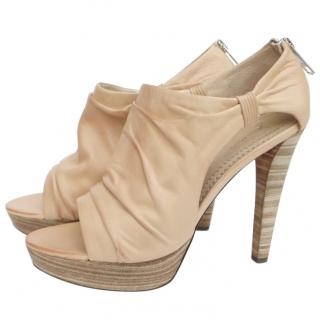 Jean-Michel Cazabat nude heeled platform shoes