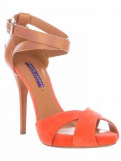 Ralph Lauren Collection leather sandals