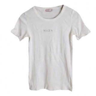 MaxMara Max&Co White Logo T-Shirt