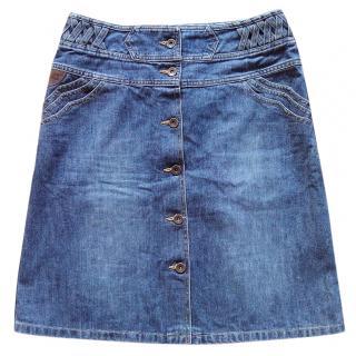 See by Chloe denim skirt