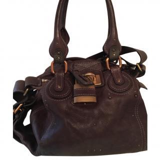 Chloe Paddington Chocolate Brown Bag