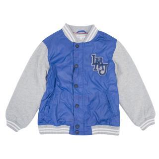 Kids Little Marc Jacobs Blue Varsity Jacket