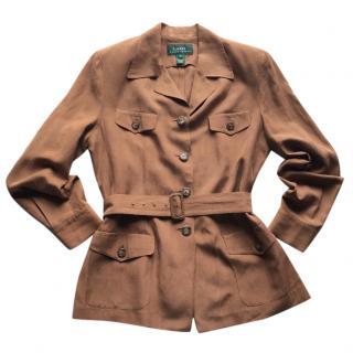 Lauren Ralph Lauren brown jacket
