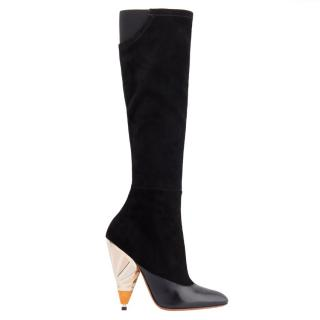 Givenchy leather knee boots