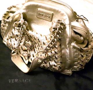 Versace Gold Satchel