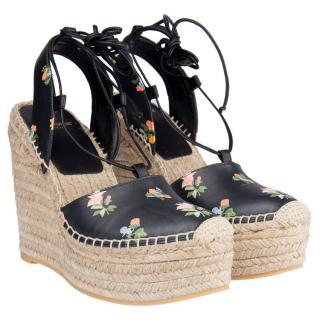 Saint Laurent wedge sandals