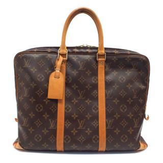 Louis Vuitton Brown Monogram Documents Briefcase