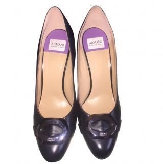 Armani Collezioni Black Heels