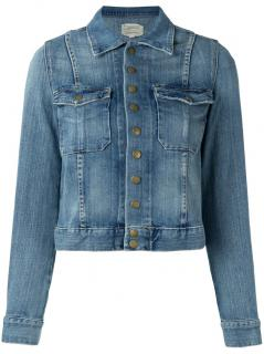 Current Elliott The Snap Denim Jacket