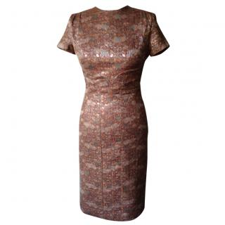 Paul Smith Lame' Jacquard Dress