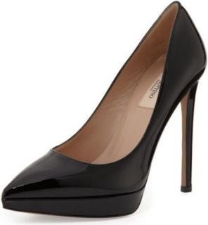 Valentino Garavani Black Patent Heels