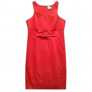 Paule Ka red shift dress