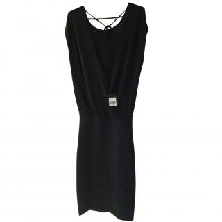 BCBG Maxazria navy Body con dress