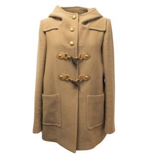 Miu Miu Camel Duffel Coat