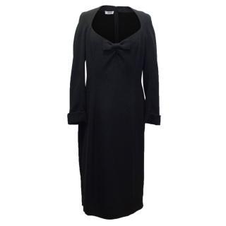 Moschino Cheap & Chic Black Bow Dress