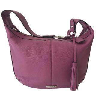 Coach Pebbled Leather Hobo Handbag