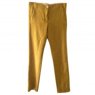 Max Mara woven trousers
