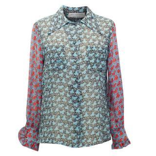 Philosophy di Lorenzo Serafini Floral Printed Shirt