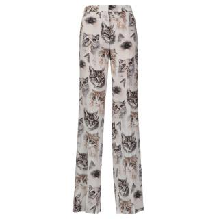 Stella Mccartney silk trousers