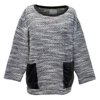 Zoe Jordan Grey Knitted Jumper