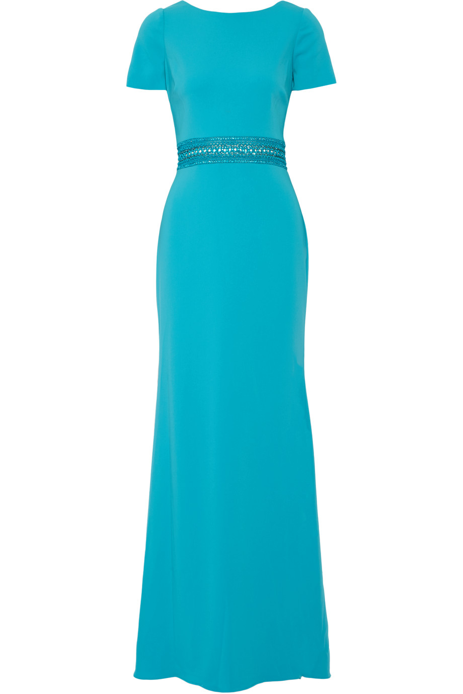 Badgley Mischka Turquoise Gown. Reduced by 75% to now only �249!