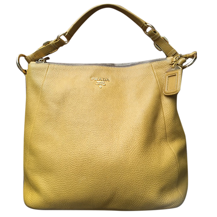 Prada Yellow Shoulder Bag