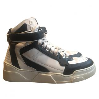 Givenchy men's leather hightop sneakers