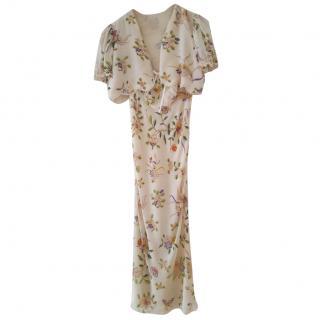 Christian Dior boutique silk dress & vest