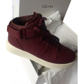 Celine Calf Leather Sneakers