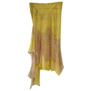 John Galliano silk skirt