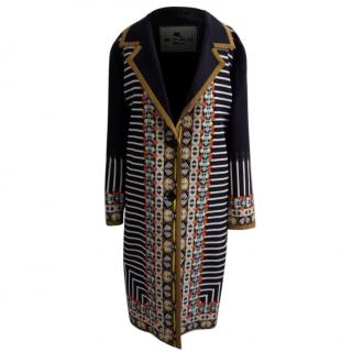 ETRO Milano Silk Coat