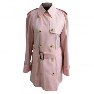 Aquascutum Cotton Blend Ladies Classic Belted Trench Coat