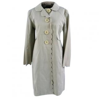 Anya Hindmarch Cotton Blend Raincoat
