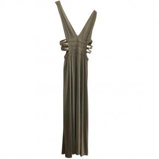 La Perla Long Bronze Dress