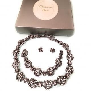 Dior vintage jewelry set