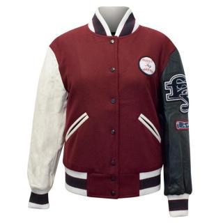 Fay Varsity Bomber Jacket