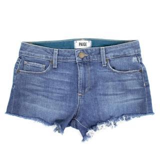 Paige Keira Denim Shorts