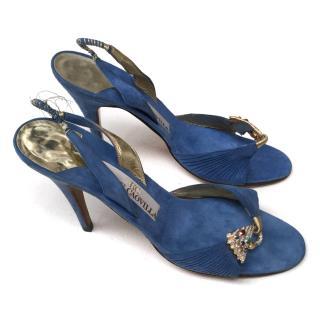 Rene Caovila sandals with embellished swans