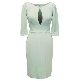 Beulah Mint Green Knee Length Bodycon Dress
