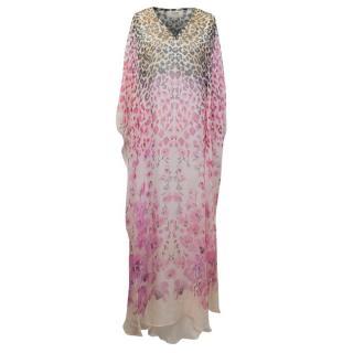 Temperley Printed Chiffon Maxi Dress