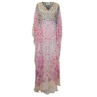 Temperley Printed Chiffon Maxi Dress