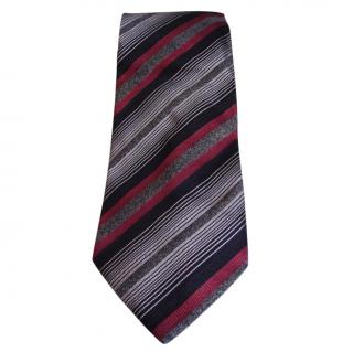 Dolce & Gabbana grey and red tie