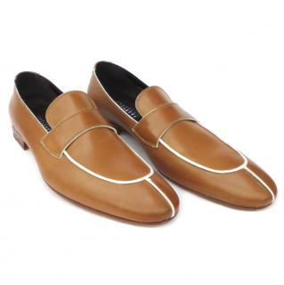 Fratelli Rossetti tan shoes