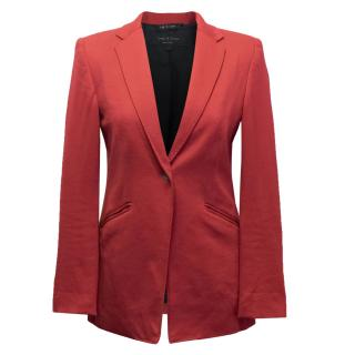 Rag and Bone Red Blazer