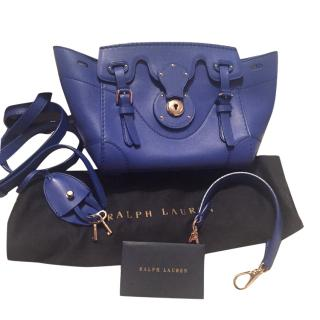Ralph Lauren Cobalt blue Ricky Mini Bag