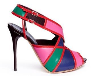 Alexander McQueen Colourblock Sandals